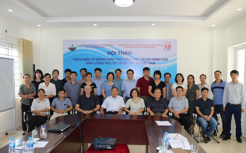 Workshop on Prospects and Knowledge Needs for improving Soil Organic Carbon in Vietnam