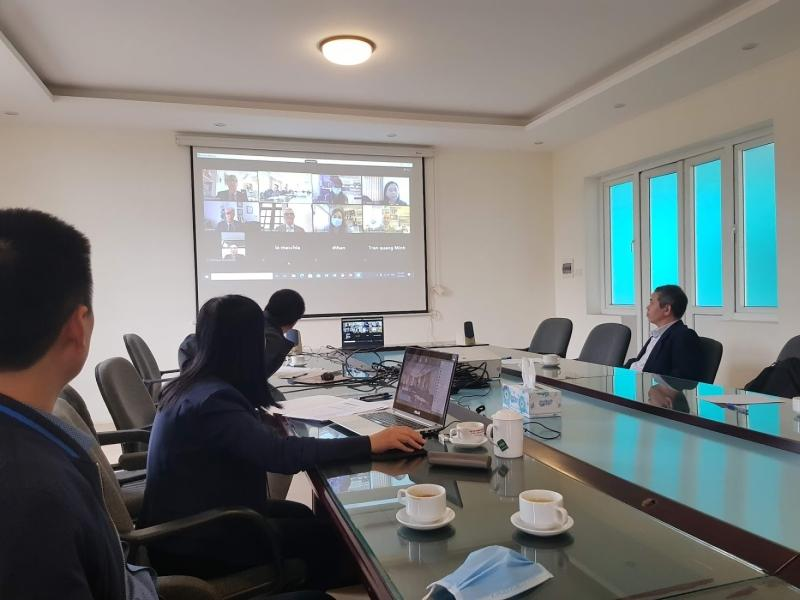Online meeting to launch a Vietnam-Italy bilateral project